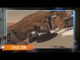 Марсоход Curiosity начинает эпичное восхождение в горы Марса